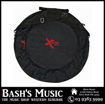 "Xtreme DA571 22"" Heavy Duty Cymbal Bag Case 10mm Padding"