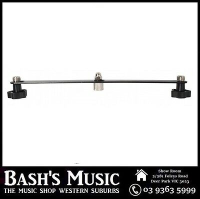 Xtreme 186 Dual Microphone Attachment 35cm Long Holds 2 Microphones