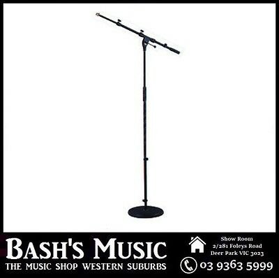 Xtreme Boom Stand Cast Base Pro Heavy Duty 96-166cm Black