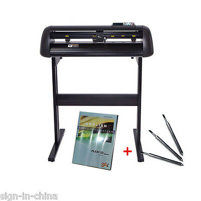"""48"""" Vicsign Vinyl Cutter with CCD Camera, Full Auto Contour Cut Function"""