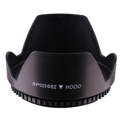 82mm Lens Hood Flower Crown Petal Shape For Canon Nikon Sony Pentax Olympus