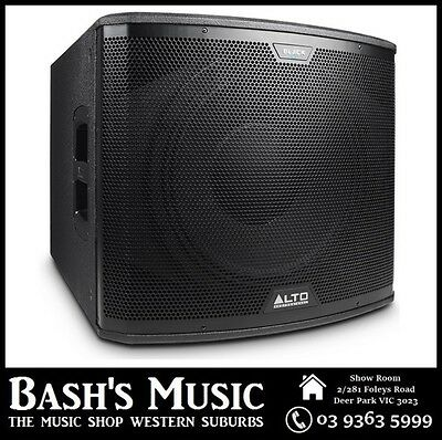 "Alto 2400 Watt 15"" Active Subwoofer"