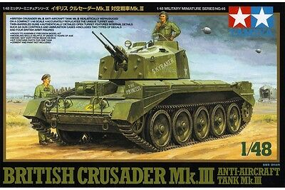 Tamiya 32546 1/48 Crusader MkIII Anti-Aircraft