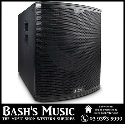 "Alto 2400 Watt 18"" Active Subwoofer"