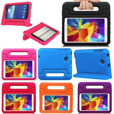 Samsung Galaxy Tab E Lite 7.0 SM-T113 Kids Friendly Handle Shockproof Case Cover