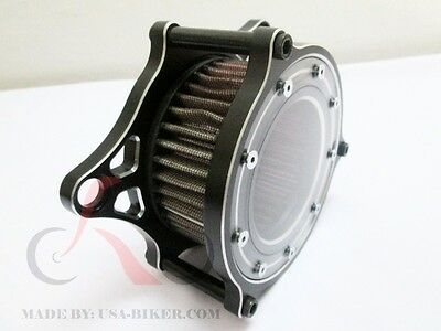 """Air Cleaner Intake Filter System 4 Harley Dyna Softail 99- Up 4"""" K&n"""