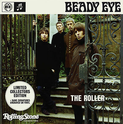 """Beady Eye - The Roller 7"""" Rare One Sided German Rolling Stone Edition - Oasis"""