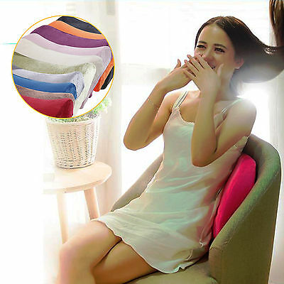 Memory Foam Seat Cushion Lumbar Back Support Pillow For Office Home Chair Car