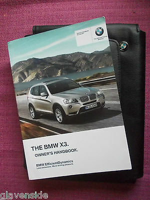 Bmw X3 (F25) Owners Manual - Owners Guide - Handbook.  (Bm 365)