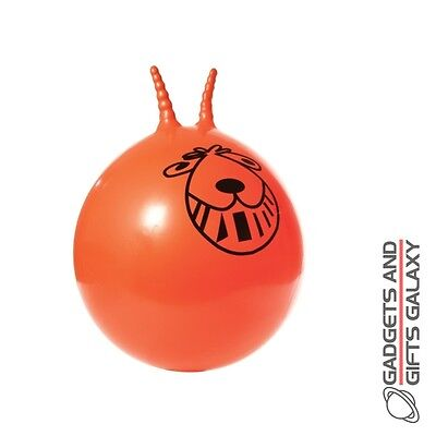 ORANGE RETRO SPACE HOPPER BOUNCER garden childs adults toy gift novelty outdoor