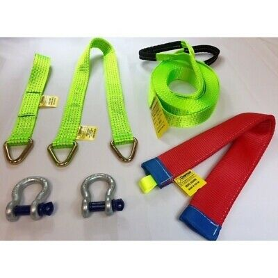 Competition Winch Strap Kit