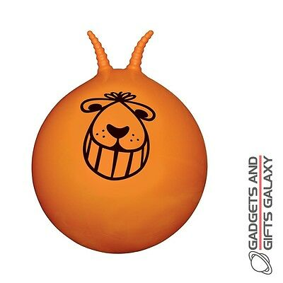 LARGE RETRO SPACE HOPPER 60cm & FOOT PUMP outdoor summer toy gift novelty childs