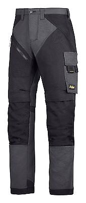 Snickers Trousers 6303 Ruffwork Non Holster Trousers Mens Steel Grey Direct