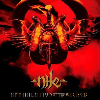 """Nile """"Annihilation Of The Wicked"""" 2x12"""" Red / Gold Vinyl"""