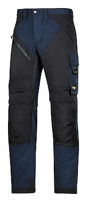 Snickers Trousers 6303 Ruffwork Non Holster Trousers Mens Navy Direct
