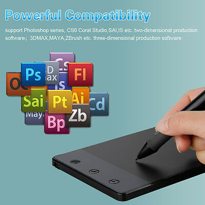 "Huion H420 4"" USB Signature Pad Digital Graphics Drawing Tablet for Laptop PC"