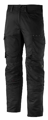 Snickers Trousers 6801 Service Line Snickers Trouser With Knee Guard Black