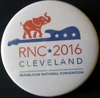 "2.25"" 2016 Republican National Convention Cleveland Pinback Button RNC"