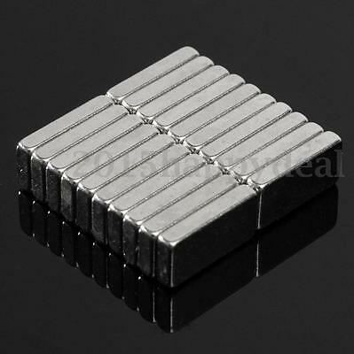 20pcs N52 Super Strong Magnets Block Rare Earth Neodymium Small Magnet 10X5X2mm