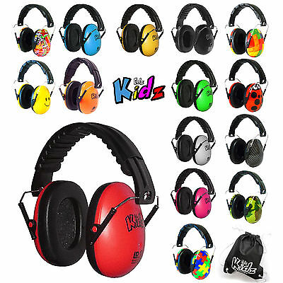 Autistic ASD Hypersensitive Infant Kids CHILDREN DEFENDERS NOISE EAR MUFFS Edz