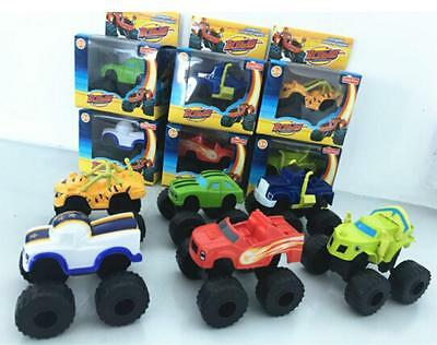 HOT Blaze and the Monster Machines Vehicle Diecast Toy Racer Cars Kids Gift - SS