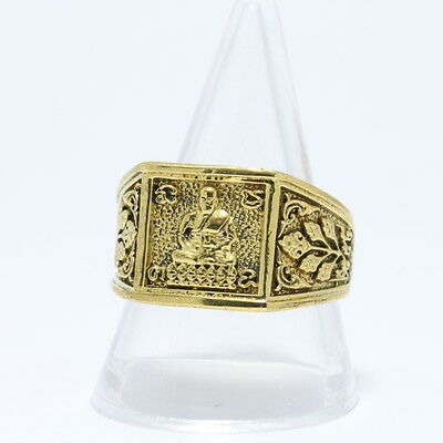 A ring by LP Doo,Wat Saga,BE:2554 Thai Amulet Buddha.