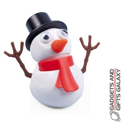MELTING PUTTY SNOWMAN CAN BE USED AGAN & AGAIN - novelty gift stocking filler