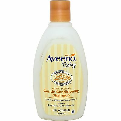 Aveeno, Baby, Gentle Conditioning Shampoo, Lightly Scented, 12 fl oz (354 ml)