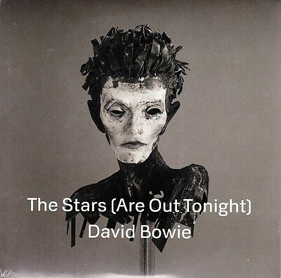 """David Bowie - The Stars (Are Out Tonight) / Where Are We Now - 7"""" White Vinyl 45"""