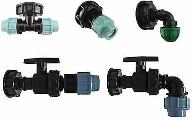 IBC TANK S60X6 ADAPTER TO MDPE WATER PIPE FITTINGS by Cost Wise®