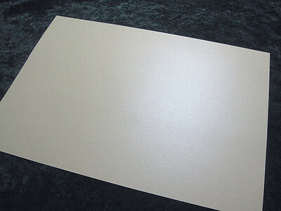 20 x sheets A4 Double Sided Aspen White Pearl / Pearlescent Paper - 110gsm