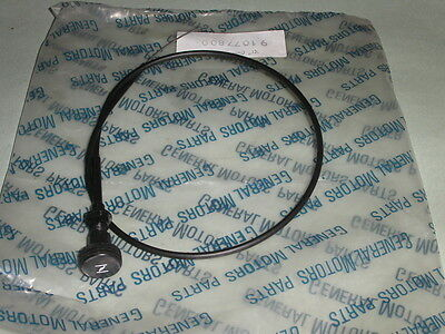 Chevette Choke Cable Assembly, New, Genuine