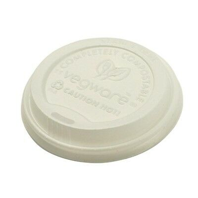 1000X Vegware Compostable Hot Cup Lids 230ml Pack quantity: 1000