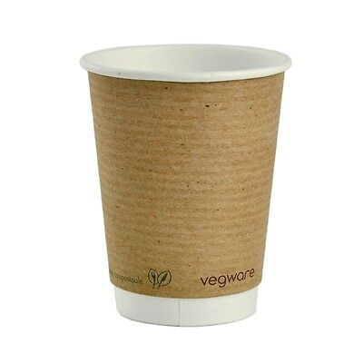 500X Vegware Hot Cups 12oz Pack quantity: 500