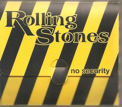 "THE ROLLING STONES ""No Security"" Limitierte CD BOX RAR 1000 only"