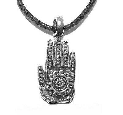Small Jain Hand Pendant (Luck, reincarnation and non-violence)