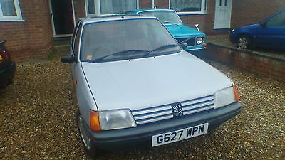 1990 Peugeot 205 Gr Silver Low Mileage Offers Considered