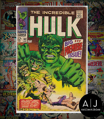 The Incredible Hulk #102 (I Marvel M) VG! HIGH RES SCANS!