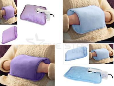 Rechargeable Hot Water Bottle Electric Massaging Bed Hand Warmer Heat Pad
