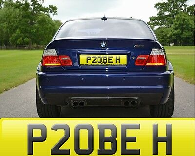 Phoebe Feebee Feeb Phebe Age Hider Private Cherished Number Plate Fee Included