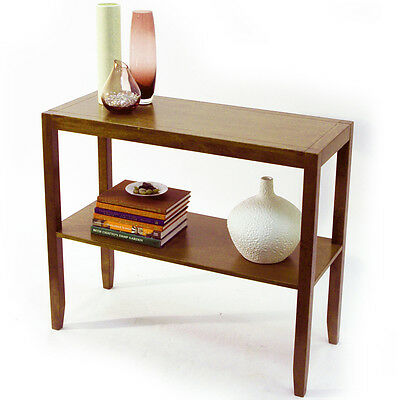 ANYWHERE - Solid Wood Console Table - Walnut Effect OC1080