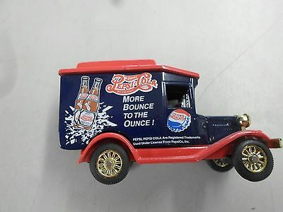 Pepsi Cola More Bounce to the ounce blue delivery van
