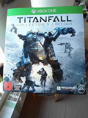 TITANFALL STATUE (Ohne Spiel) Titanfall Collectors Edition Xbox One *** mit OVP