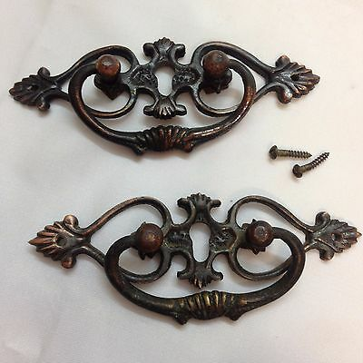 Salvage Antique or Vintage Cooper Drawer Pulls