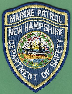 New Hampshire Department Of Public Safety Marine Patrol Police Patch