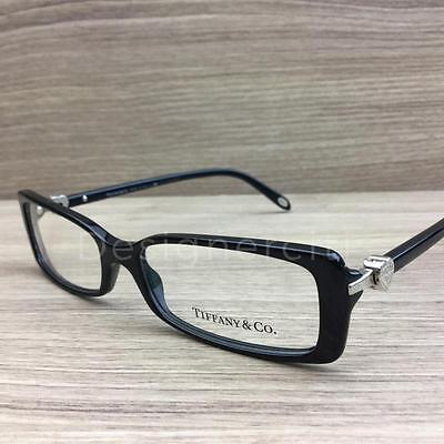 Tiffany & Co. TF 2035 Eyeglasses Black Silver 8001 Authentic 52mm