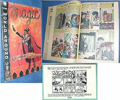 The Illustrated Story Of Magic September 1960 ( No. 25)World Around Us Series