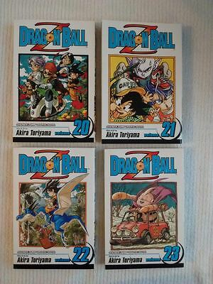 Dragon Ball Z graphic Novel by Akira Toriyama Volume 20 - 23
