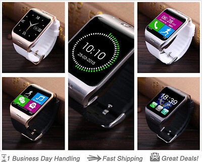 New LG118 Bluetooth Smart Watch Compatible w/ iPhone/IOS/Android/Samsung/HTC/LG