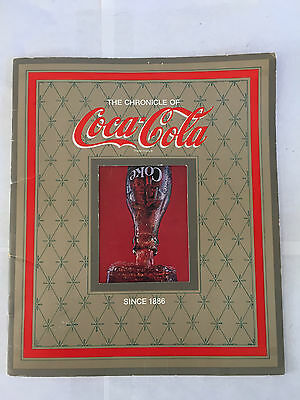 The Chronicle Of Coca Cola Coke Booklet Book